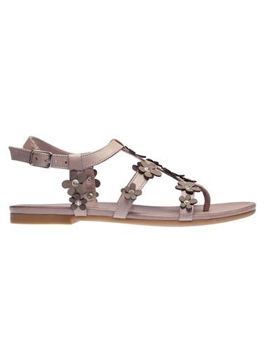 İnci Sandalet Gri